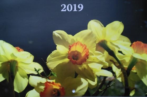 ValonVuoksi 2019 kalenteri saatiin painosta syyskuussa.